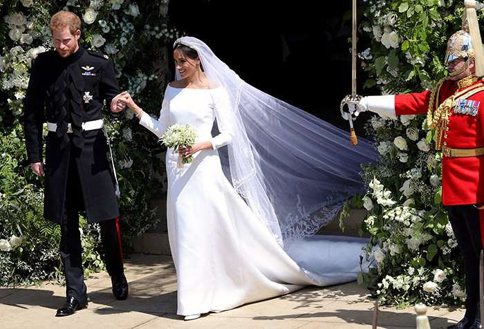 After months of speculation, Prince Harry's bride Meghan Markle finally revealed that she had chosen Clare Waight Keller of iconic Parisian fashion house Givenchy to design her wedding dress
