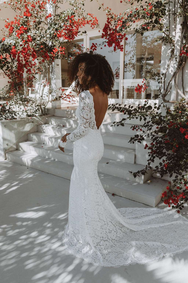 The brand's newly-released Luca dress, as designed by 80,000 brides (Grace Loves Lace )