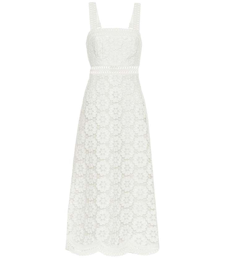 The detail on Zimmermann's summer frocks are what makes them so special. Great for a hot-weather wedding, this is a ladylike take on the Boho bride 960 Zimmermann at MyTheresa.